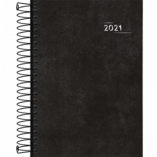AGENDA NAPOLI ESPIRAL PRETA 2021
